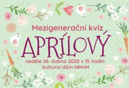 Mezigenerační kvíz – aprílový