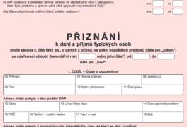 Informace Finančního úřadu k dani z nemovitostí